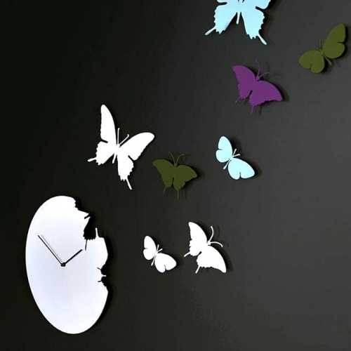 Бабочки в интерьере