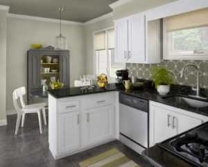 Белая кухня в интерьере фото