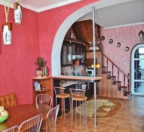 дизайн кухни проходной в частном доме