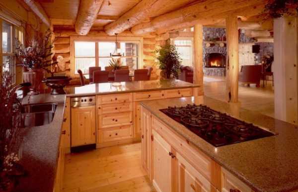 Дизайн кухни с островом фото