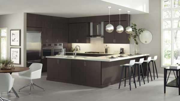 Дизайн кухни венге