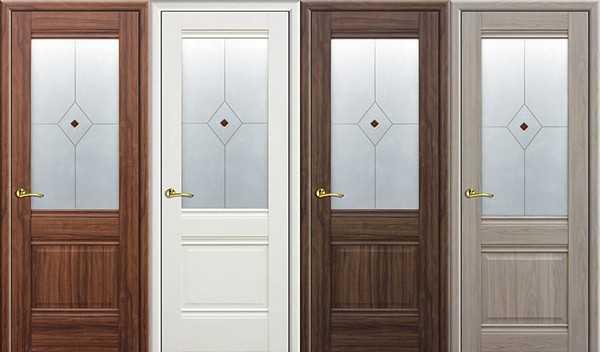 Двери из экошпона в интерьере фото