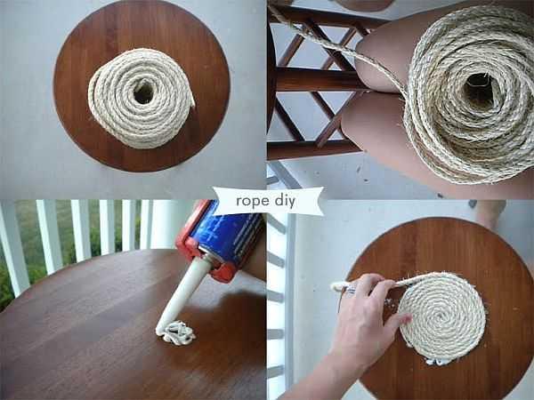 Декор коробки веревкой своими руками