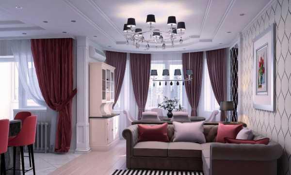 Дизайн однокомнатной квартиры: Мозговой штурм по