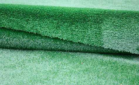 Искусственная трава в горшках для интерьера