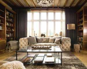 Классически й интерьер гостиной
