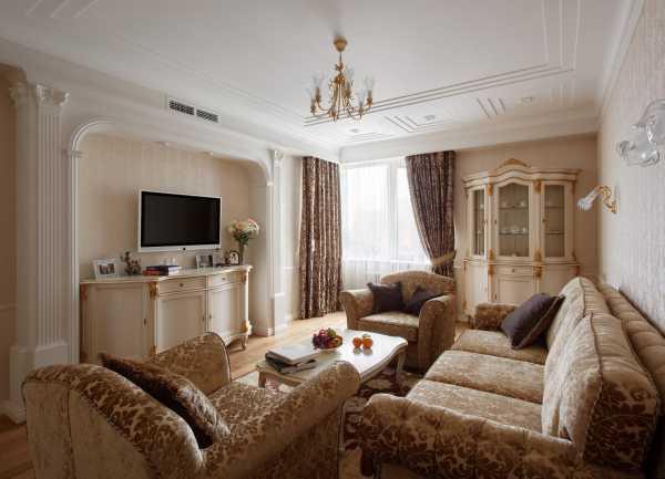 Классический интерьер гостиной