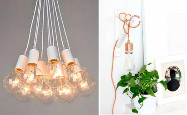 Лампы эдисона в интерьере
