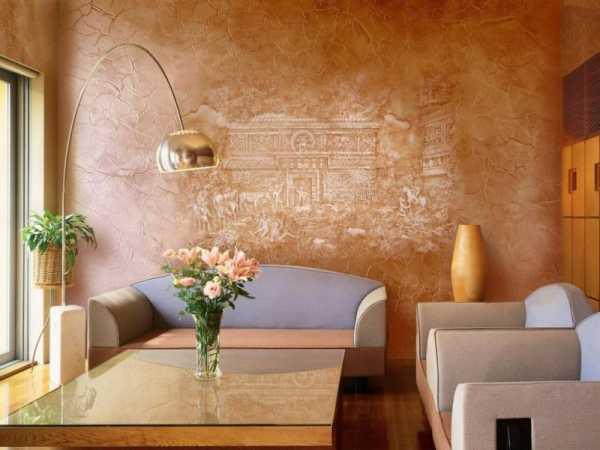 Оформление стен в интерьере
