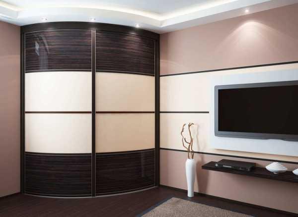 Шкаф купе в гостиную: фото, дизайн, идеи 77
