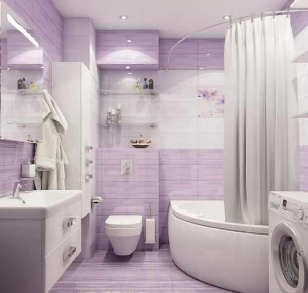 Дизайн ванной комнаты сиреневого купить кран букса для смесителя елочка