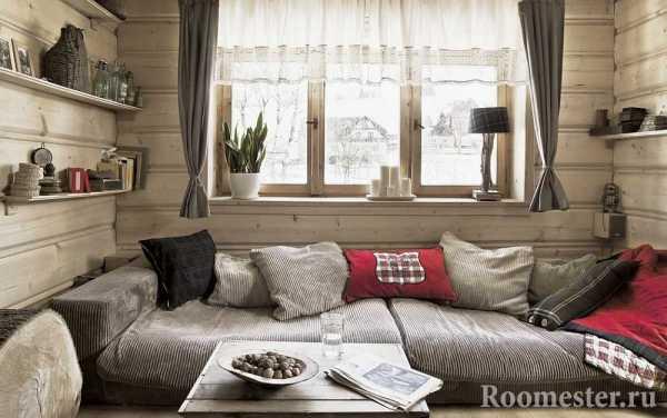 Стиль кантри в интерьере квартиры фото