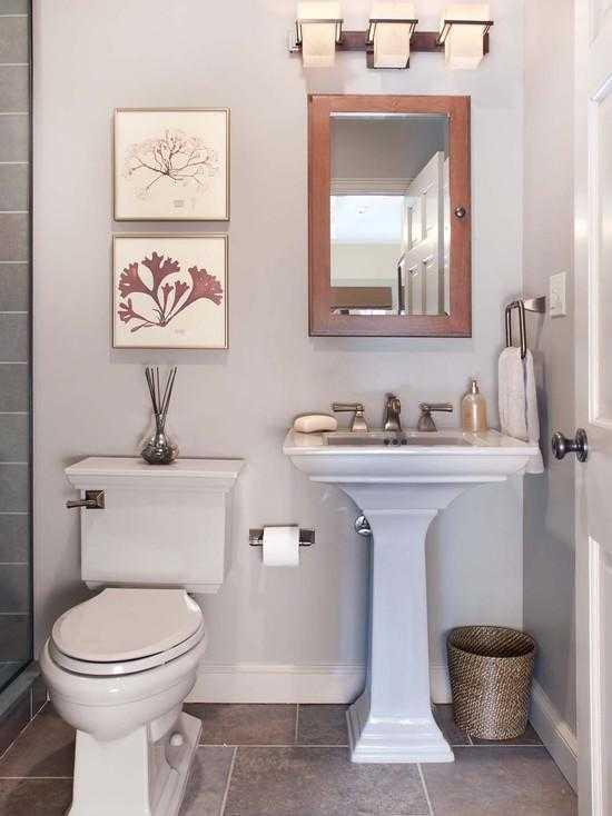 дизайн ванной комнаты небольшой