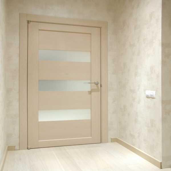 Сочетанием двери межкомнатные цвет анегри и пол беленый дуб