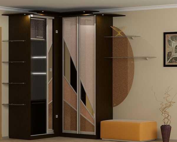 Угловой шкаф купе в прихожую фото дизайн
