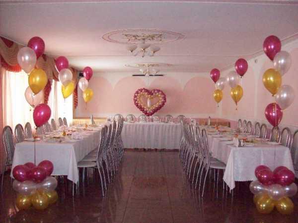 Как украсить зал на свадьбу своими руками, фото, сколько стоит 51